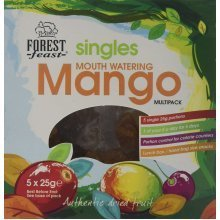 Forest Feast Singles Mango Multipack 5 x 25 g