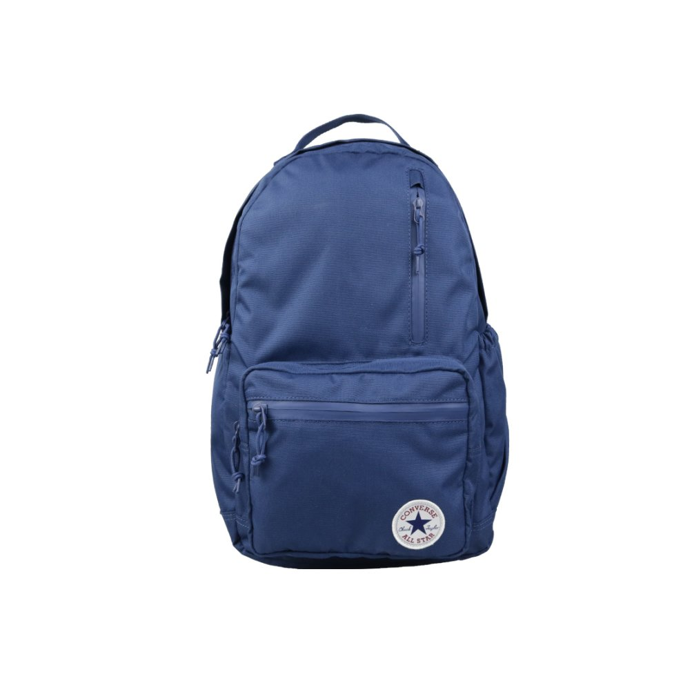 8bd1662b119c3 Converse Go Backpack 10004800-A02 unisex Navy Blue backpack
