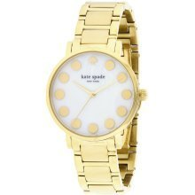 Kate Spade New York Gramercy Dot Gold-Tone Ladies Watch 1YRU0737