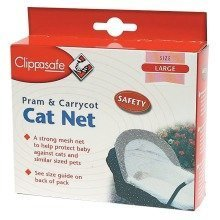 Clippasafe Pram & Pushchair Large Cat Net
