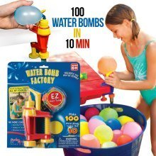 Water Balloon Water Bomb Factory, Swimming Pool and Garden Game