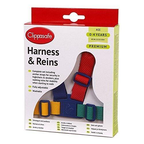 Clippasafe Easy Wash Harness Multi Colour