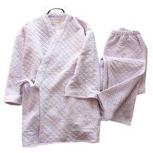Women 's Kimono Pajamas Fall&winter Cotton Thick Pajamas Suit Pajamas