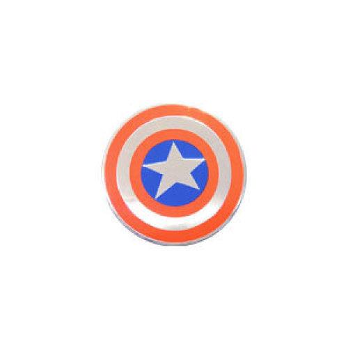 Sticker - Marvel - Avengers - Captain America Shield Metal New Toys s-mvl-0034-m