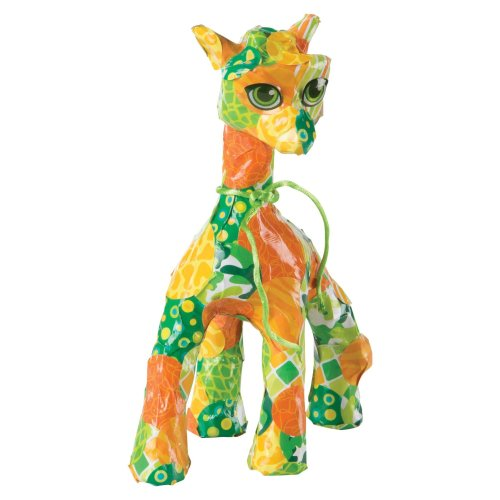 Melissa & Doug 40104 Decoupage Made Easy Giraffe Paper Mache Craft Kit With Stickers
