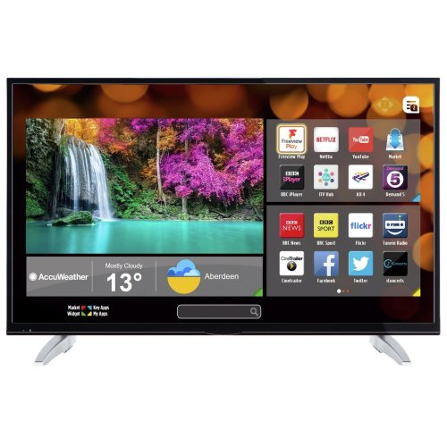 Unbranded LED49400UHDFVP 49 Inch SMART 4K Ultra HD LED TV Freeview Play