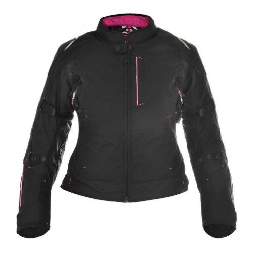 Oxford Girona Pink Womens Short Motorcycle Jacket