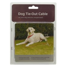 Dog Tie-out Cable 10'
