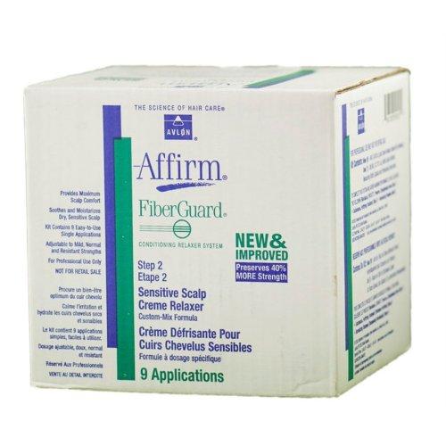 Avlon Affirm FiberGuard Sensitive Scalp Relaxer 9 Application