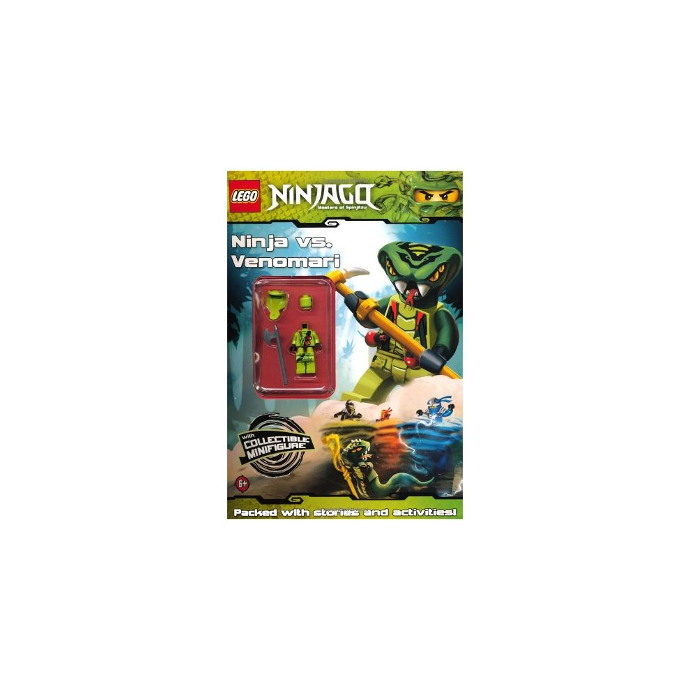 LEGO Ninjago: Ninja vs Venomari Activity Book with minifigure