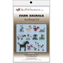 Quilled Creations Quilling Kit-Farm Animals