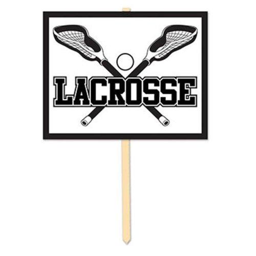 Beistle 54065 Lacrosse Yard Sign, Pack Of 6