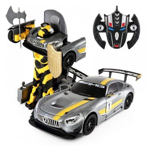 Rastar RC 1:14 Mercedes Benz AMG GT3 Transformers Kids Remote Control Car