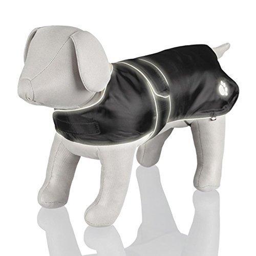 Trixie 30511 Orleans Coat XS 25cm Black - 25cm Dog Reflective -  coat black trixie orleans 30511 xs 25 cm dog reflective