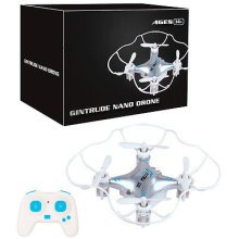 6-Axis 3D Easy to Fly Nano Mini Drone Helicopter 4 Blades Stunt Action RC Remote