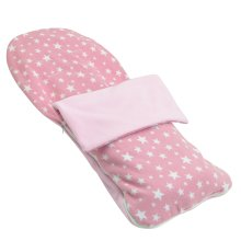 Snuggle Summer Footmuff Compatible With Mothercare Ultimate - Light Pink Star
