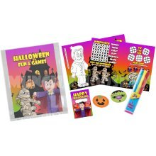 Halloween Pre Filled Party Bag - Kids Birthday Parties