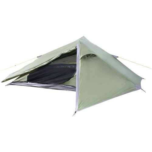 Yellowstone Matterhorn 1 Man Camping Tent (Green)