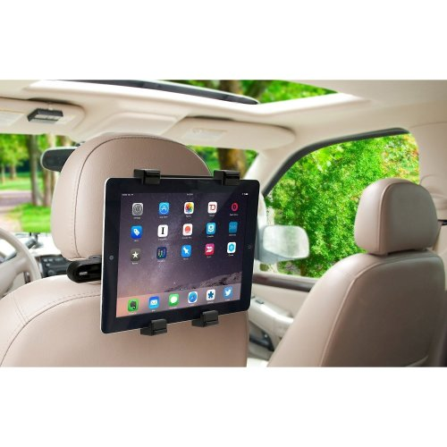 Okra 360° Degree Rotating Headrest Car Seat Mount For Tablets Up To -10.1""