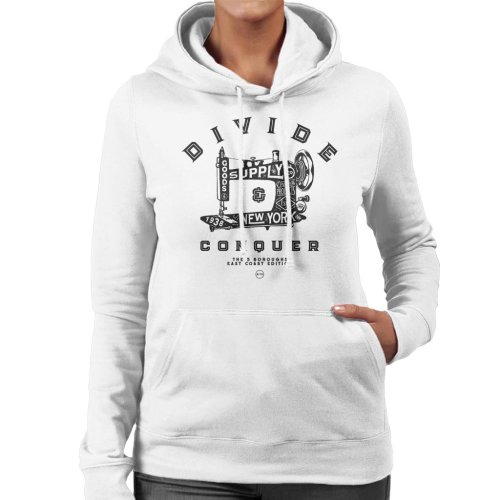 Divide & Conquer New York East Coast Edition Women's Hooded Sweatshirt