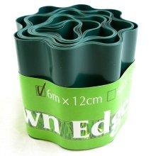 Hyfive - Garden Border - Lawn And Beet Patch Edge - 12Cm X 6M - Green