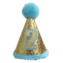 Party Hat - Small and Blue