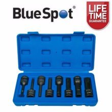 "BlueSpot 8pc 1/2"" Impact Hex Socket Set"