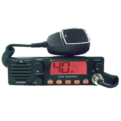 CB Radio  TTi TCB-950 power station 12-24V with front speaker