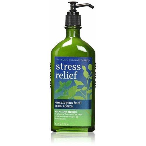 Bath Body Works Aromatherapy Stress Relief Eucalyptus Basil Body