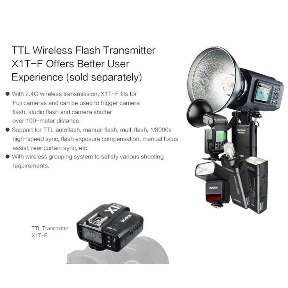 Godox Mini TT350F 2 4G HSS 1/8000s TTL GN36 Camera Flash Speedlite for Fuji  Cameras X-Pro2,X-T20,X-T2,X-T1,X-Pro1,X-T10,X-E1,X-A3,X100F,X100T