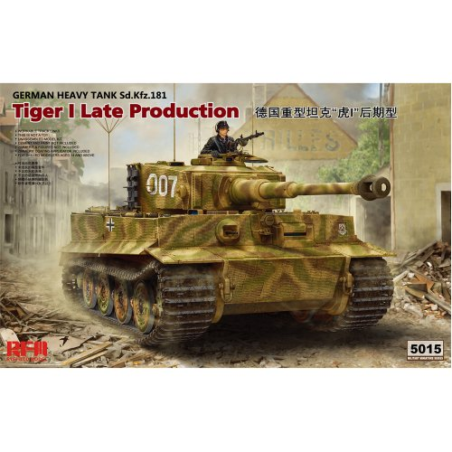 1:35 Sd.Kfz.181 Pz.Kpfw. VI Ausf.E Tiger I Late Production Military Model Kit