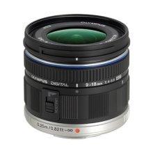Olympus M.ZUIKO Digital ED 9-18 mm 1:4.0-5.6 Lens - Black