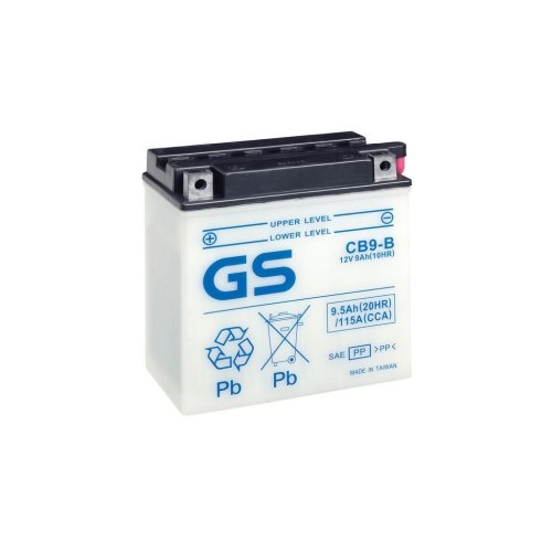 Motorcycle CB Series Battery 12V - 9Ah - 115CCA