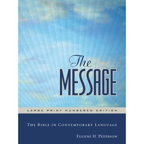The Message Large Print Hardback