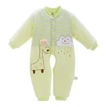 Baby Winter Soft Clothings Comfortable and Warm Winter Suits, 61cm/Green