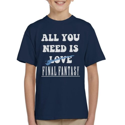 All You Need Is Final Fantasy Kid's T-Shirt