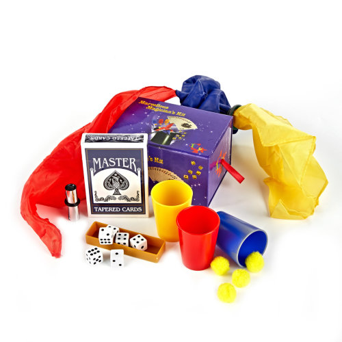 Marvellous Magicians Kit - 20 Magic Tricks