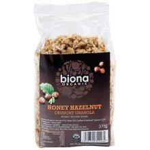 Biona Organic Honey Hazel Crunchy No Added Sugar