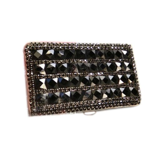 Trendy Rhinestone Cigarette Case Cigarette Box Wonderful Gift for Girl Friend, #09
