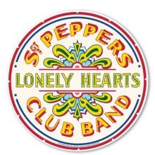 The Beatles Sgt Peppers Lonely Hearts Club Band Computer Mouse Mat 100% -