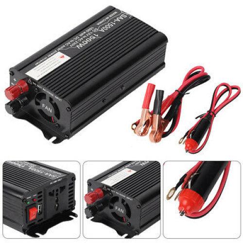 1500W/3000W Power Car Converter power inverter DC 12V to AC 220- 240V Pratical