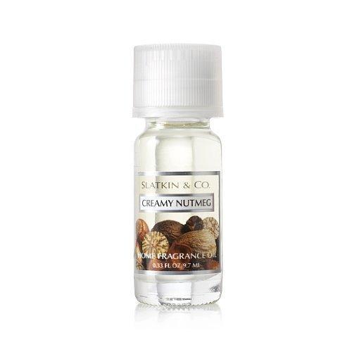 Slatkin & Co. Creamy Nutmeg Home Fragrance Oil Bath & Body Works