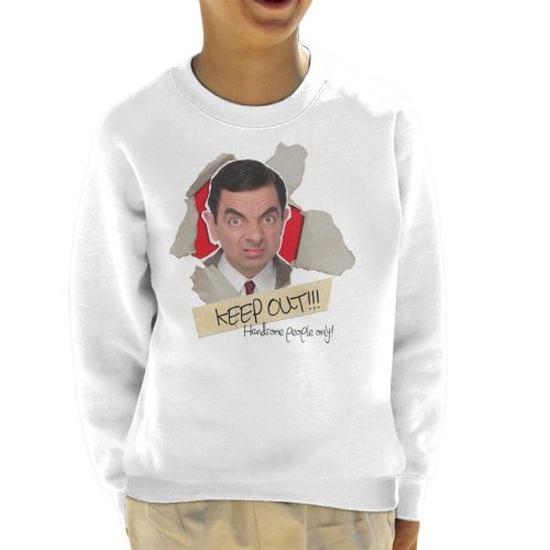 Mr Bean Keep Out Handsome People Only Kid's Sweatshirt