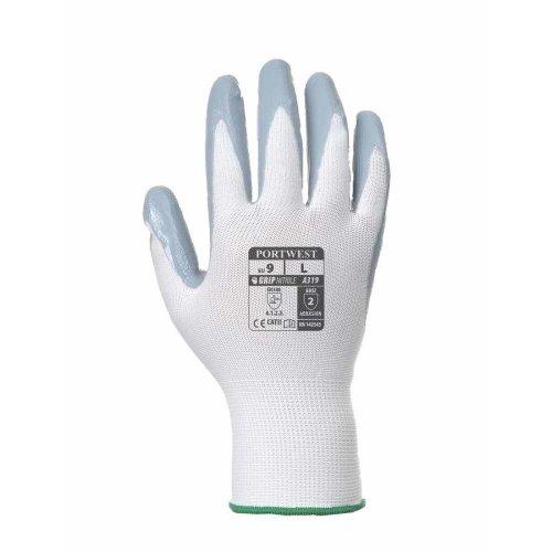 sUw - Flexo Grip Nitrile General Handling Glove (1 Pair Retail Bags)