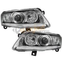 Audi A6 4f 2004-2008 Xenon Headlights Headlamps 1 Pair O/s & N/s
