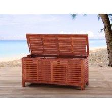 Storage box - garden - cushion box - acacia - TOSCANA