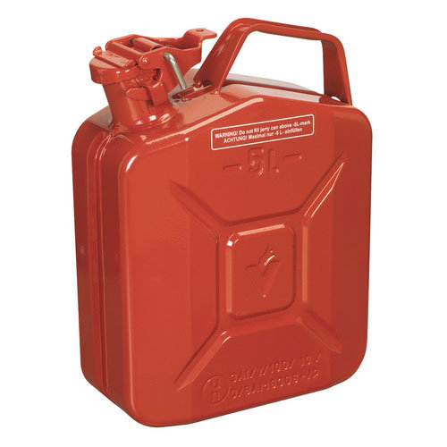 Sealey JC5MR 5ltr Jerry Can - Red
