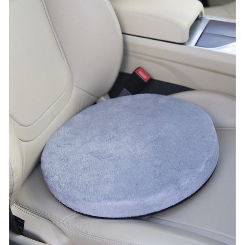 Posture Cushion 360 Rotating Memory Foam Swivel Cushion Ideal For Car Not With High Sided Seats Home Office