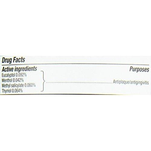 Listerine Antiseptic Adult Mouthwash Fresh Burst 1 liter
