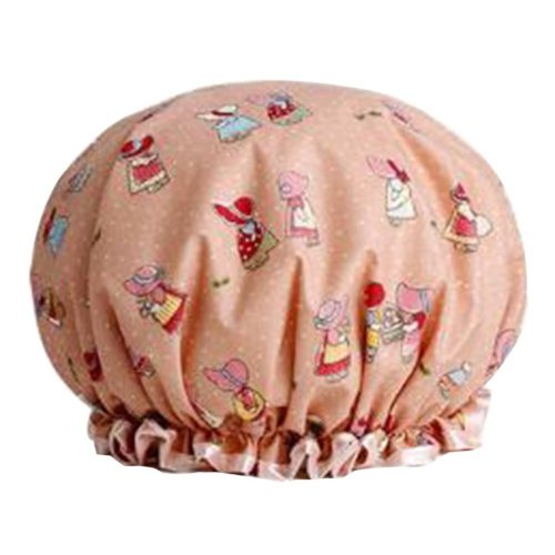 2 Pcs Shower Cap Waterproof Women Thickened Kitchen Anti-fume Caps #2